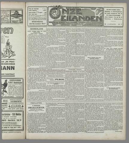 Onze Eilanden 1927-11-23