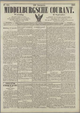 Middelburgsche Courant 1895-09-11