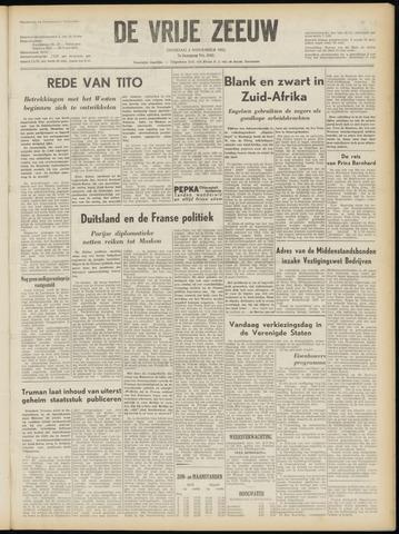 de Vrije Zeeuw 1952-11-04