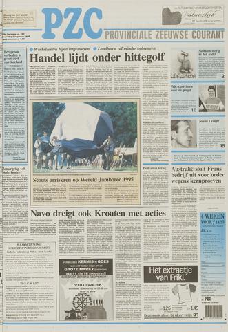 Provinciale Zeeuwse Courant 1995-08-02