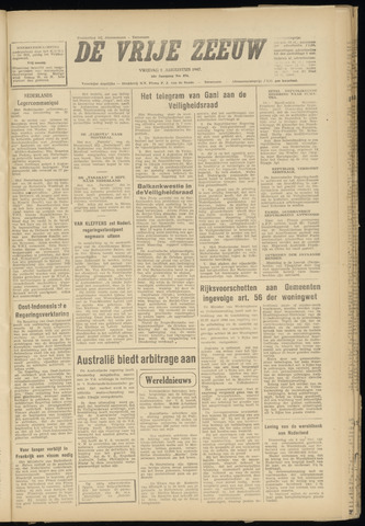 de Vrije Zeeuw 1947-08-08