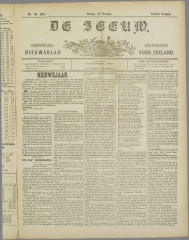 De Zeeuw. Christelijk-historisch nieuwsblad voor Zeeland 1897-12-28