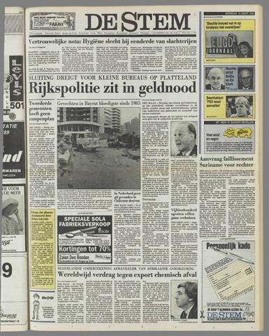 de Stem 1989-03-15