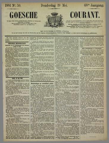 Goessche Courant 1881-05-19