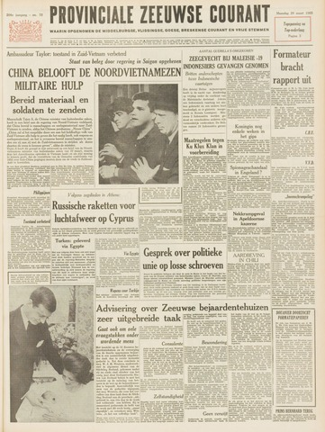 Provinciale Zeeuwse Courant 1965-03-29