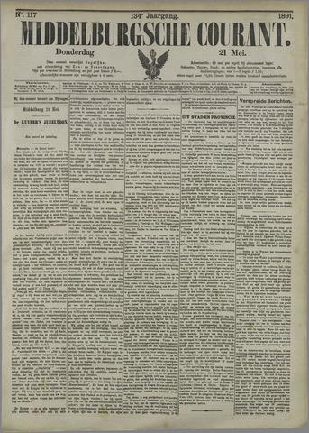 Middelburgsche Courant 1891-05-21
