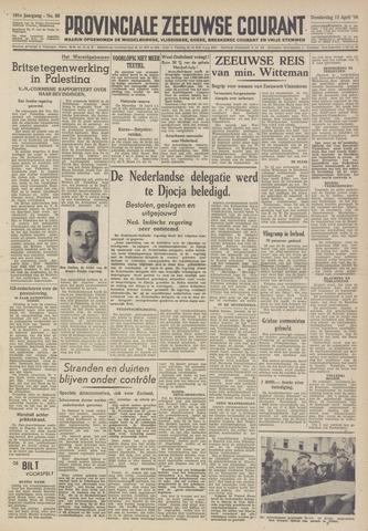 Provinciale Zeeuwse Courant 1948-04-15