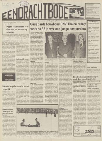 Eendrachtbode (1945-heden)/Mededeelingenblad voor het eiland Tholen (1944/45) 1979-01-25
