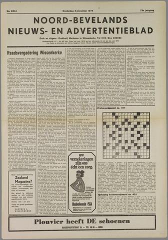 Noord-Bevelands Nieuws- en advertentieblad 1974-12-05