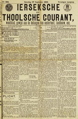 Ierseksche en Thoolsche Courant 1902-09-27