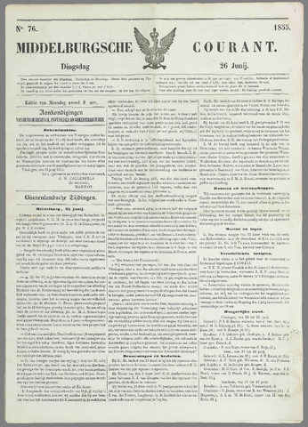 Middelburgsche Courant 1855-06-26