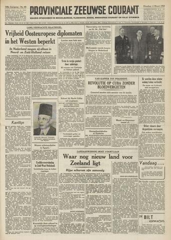 Provinciale Zeeuwse Courant 1952-03-11