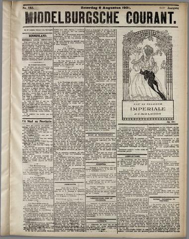 Middelburgsche Courant 1921-08-06