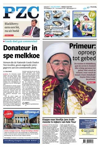 Provinciale Zeeuwse Courant 2015-07-28