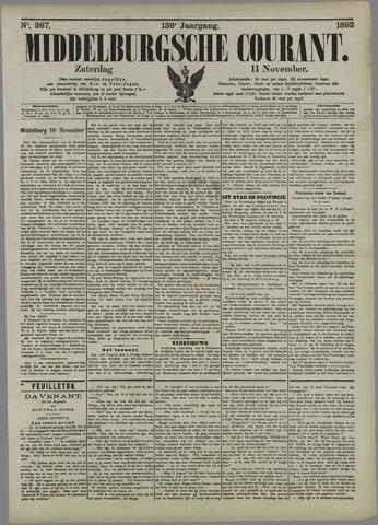 Middelburgsche Courant 1893-11-11