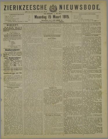 Zierikzeesche Nieuwsbode 1915-03-15
