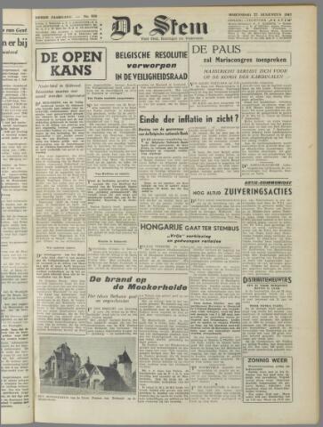 de Stem 1947-08-27