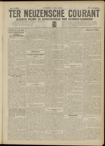 Ter Neuzensche Courant. Algemeen Nieuws- en Advertentieblad voor Zeeuwsch-Vlaanderen / Neuzensche Courant ... (idem) / (Algemeen) nieuws en advertentieblad voor Zeeuwsch-Vlaanderen 1942-07-17
