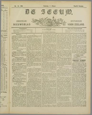 De Zeeuw. Christelijk-historisch nieuwsblad voor Zeeland 1898-02-03