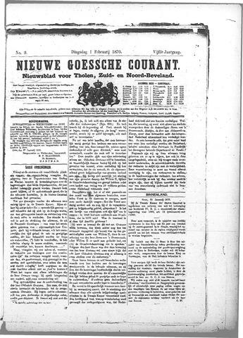 Nieuwe Goessche Courant 1870-02-01