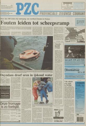 Provinciale Zeeuwse Courant 1994-09-29