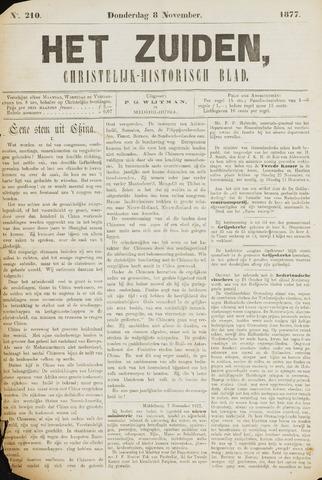 Het Zuiden, Christelijk-historisch blad 1877-11-08