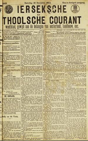 Ierseksche en Thoolsche Courant 1914-12-12