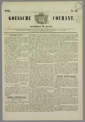 Goessche Courant 1852-03-11