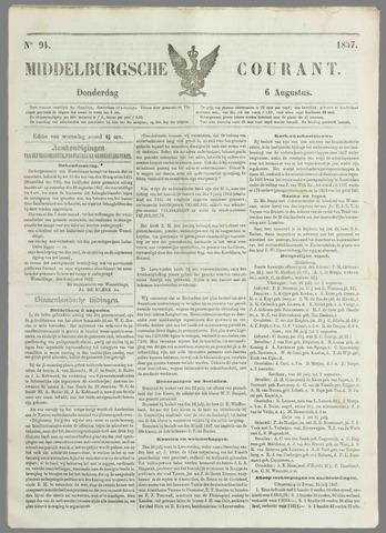 Middelburgsche Courant 1857-08-06