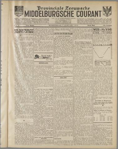 Middelburgsche Courant 1932-01-07