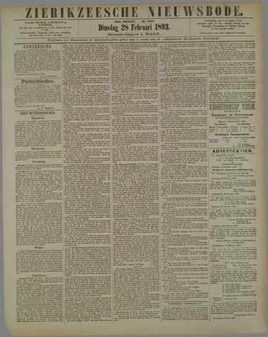 Zierikzeesche Nieuwsbode 1893-02-28
