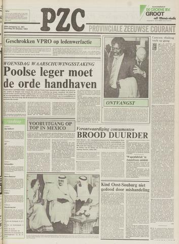 Provinciale Zeeuwse Courant 1981-10-24