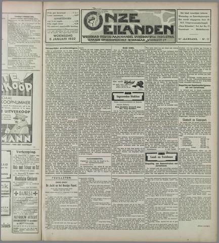 Onze Eilanden 1932