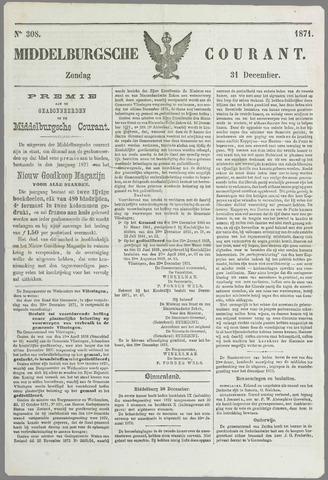 Middelburgsche Courant 1871-12-31
