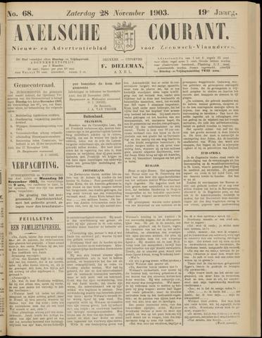 Axelsche Courant 1903-11-28