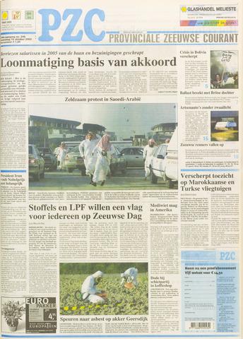Provinciale Zeeuwse Courant 2003-10-15
