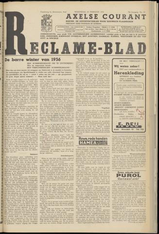 Axelsche Courant 1956-02-29