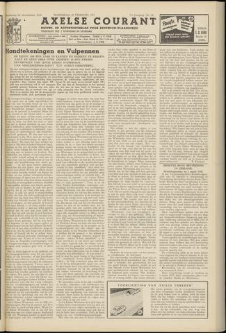 Axelsche Courant 1957-02-20
