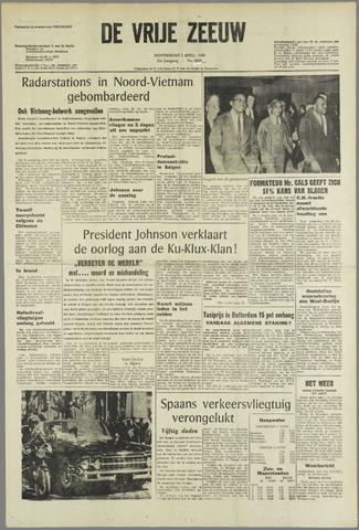 de Vrije Zeeuw 1965-04-01