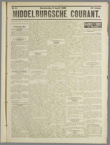 Middelburgsche Courant 1925-04-09