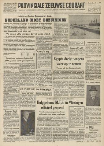 Provinciale Zeeuwse Courant 1956-11-29