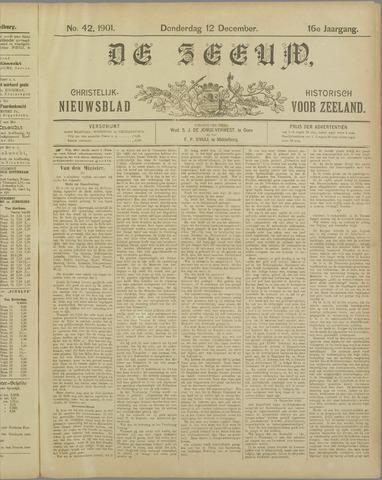 De Zeeuw. Christelijk-historisch nieuwsblad voor Zeeland 1901-12-12