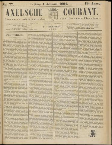 Axelsche Courant 1904
