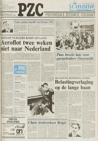 Provinciale Zeeuwse Courant 1983-09-13