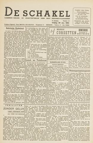 De Schakel 1954-01-29