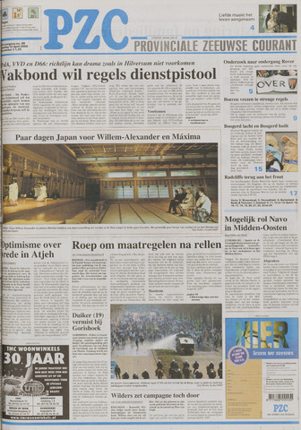 Provinciale Zeeuwse Courant 2005-04-18