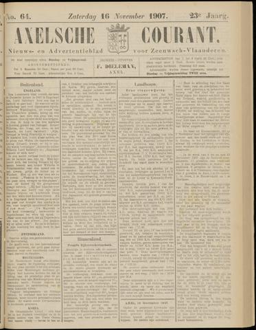 Axelsche Courant 1907-11-16