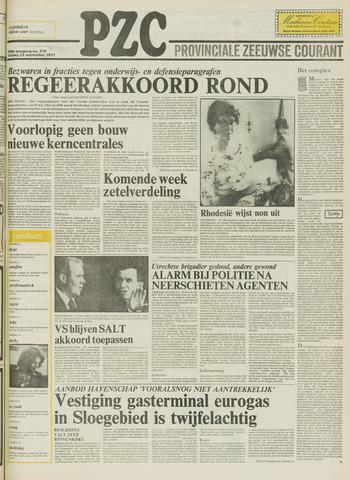 Provinciale Zeeuwse Courant 1977-09-23