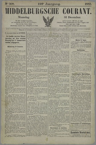Middelburgsche Courant 1883-12-31