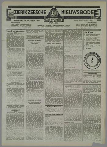 Zierikzeesche Nieuwsbode 1937-10-20
